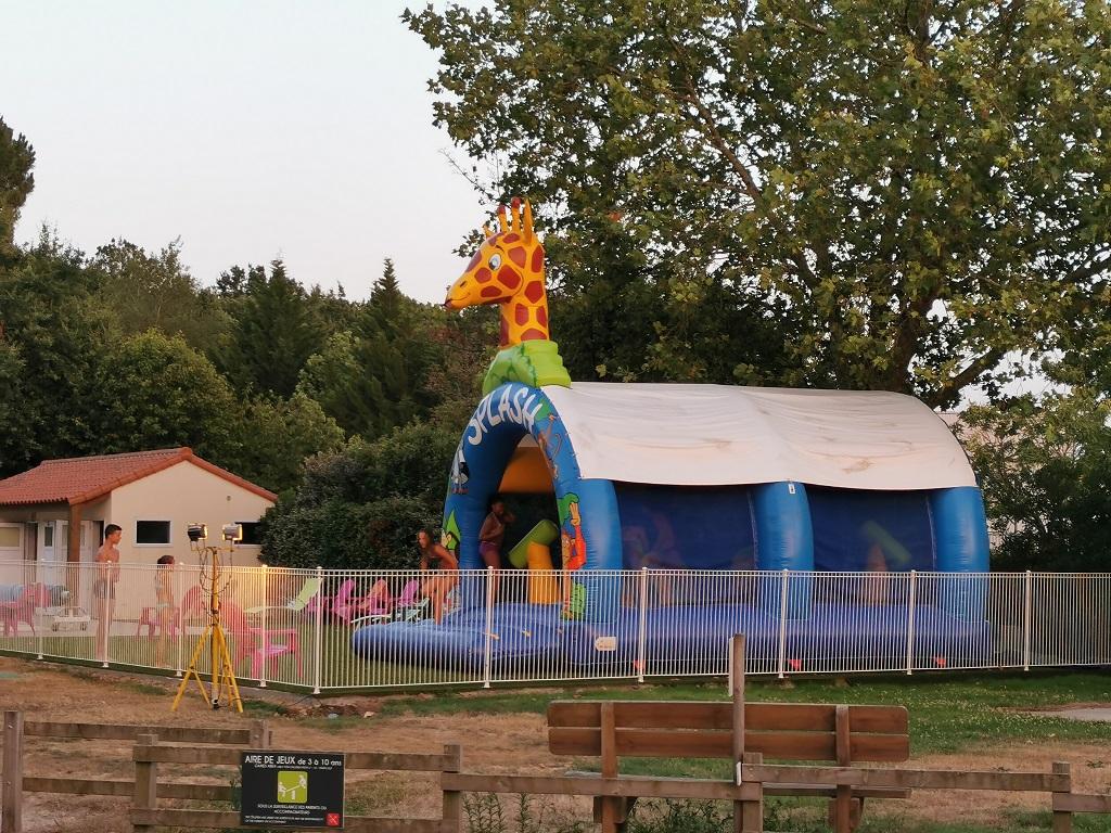 jeux du camping à Aizenay