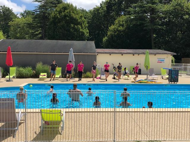 piscine chauffée du camping en Vendée