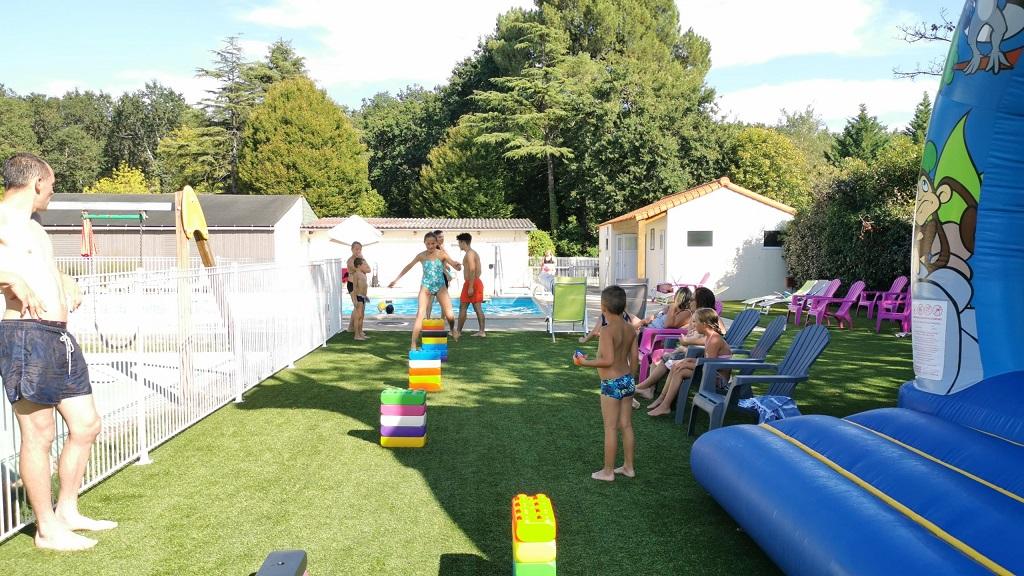 jeux au camping en Vendée