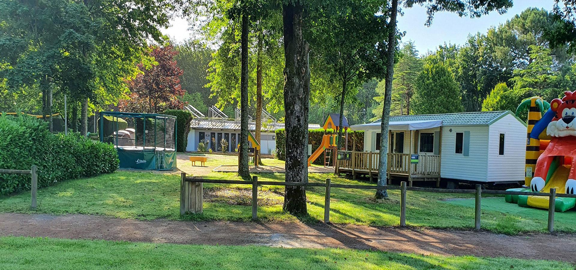 camping 3 étoiles à Aizenay