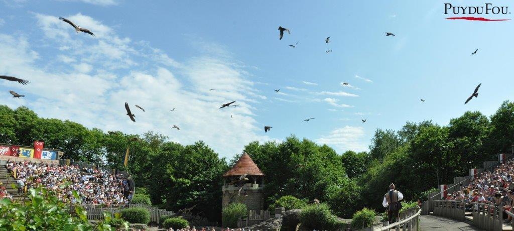 grand parc du Puy du Fou et ses spectacles