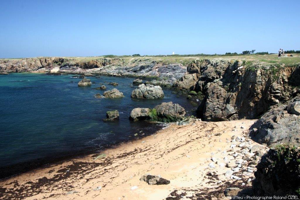 plage de l'île d'Yeu