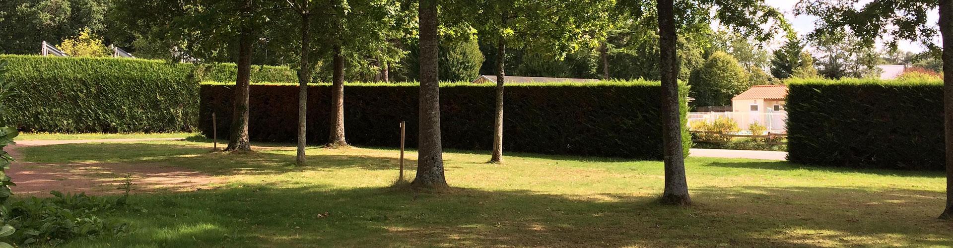 emplacement de camping en Vendée